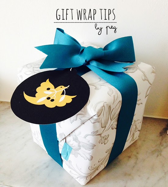 Gift wrap tips
