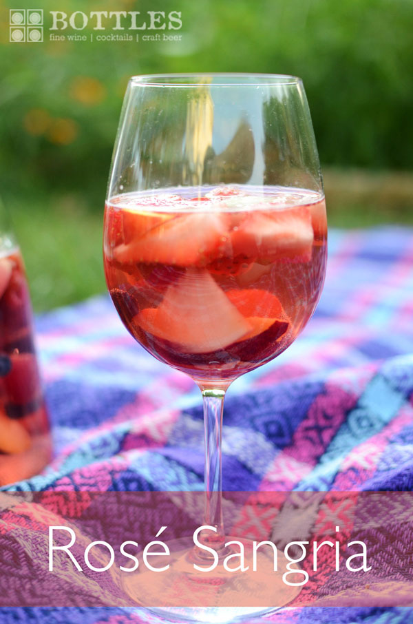 rose sangria drink idea