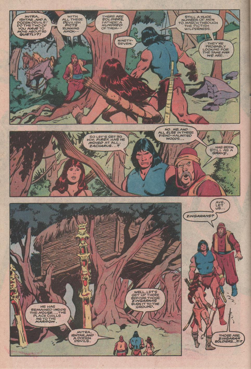 Conan the Barbarian (1970) Issue #173 #185 - English 7