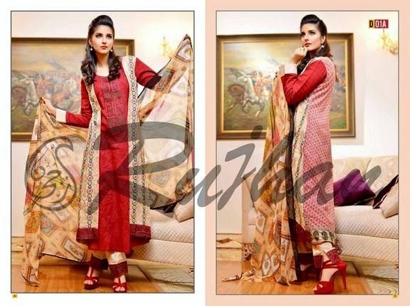 FestivanaEidCollectionByRujhanFabrics wwwfashionhuntworldblogspot 17  - Festivana Eid Collection 2014-2015 By Rujhan Fabrics
