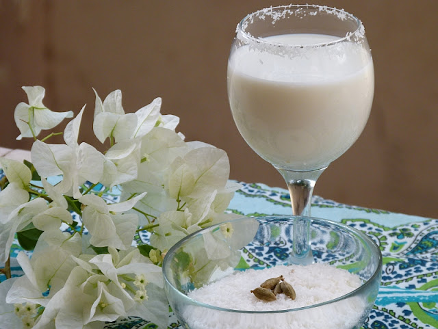 Ägyptisches Kokosnuss Getränk Sobia Subia Ramadan Rezept