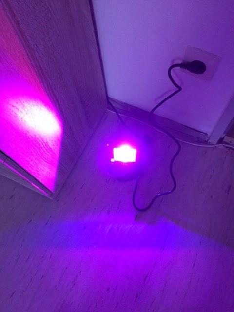 lahr2006 testet le 10w rgb fluter mit fernbedienung led flutlicht farbwechselhafte led. Black Bedroom Furniture Sets. Home Design Ideas