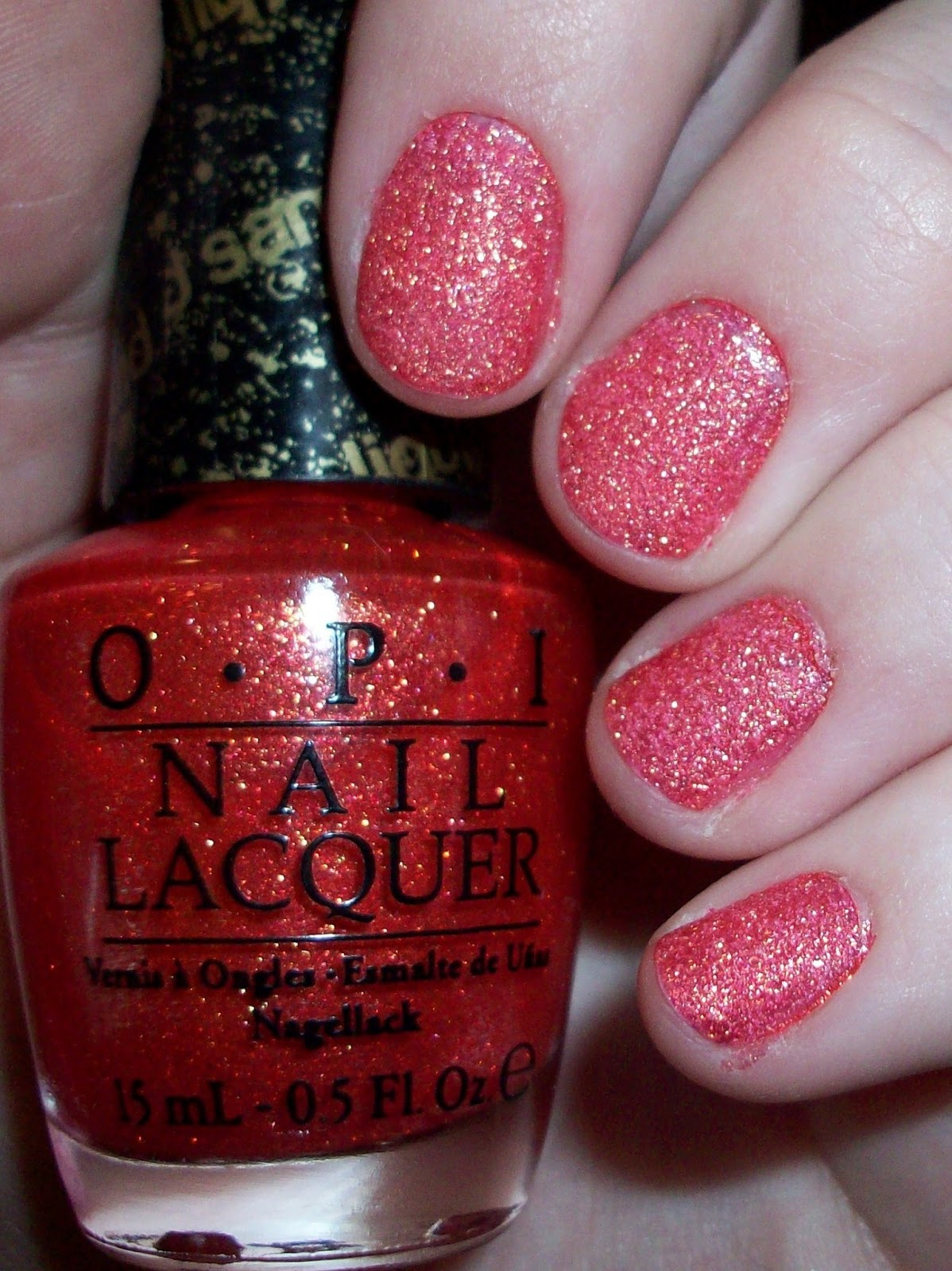 Luxury on the Lips: OPI Bond Girls Liquid Sand Collection - Jinx