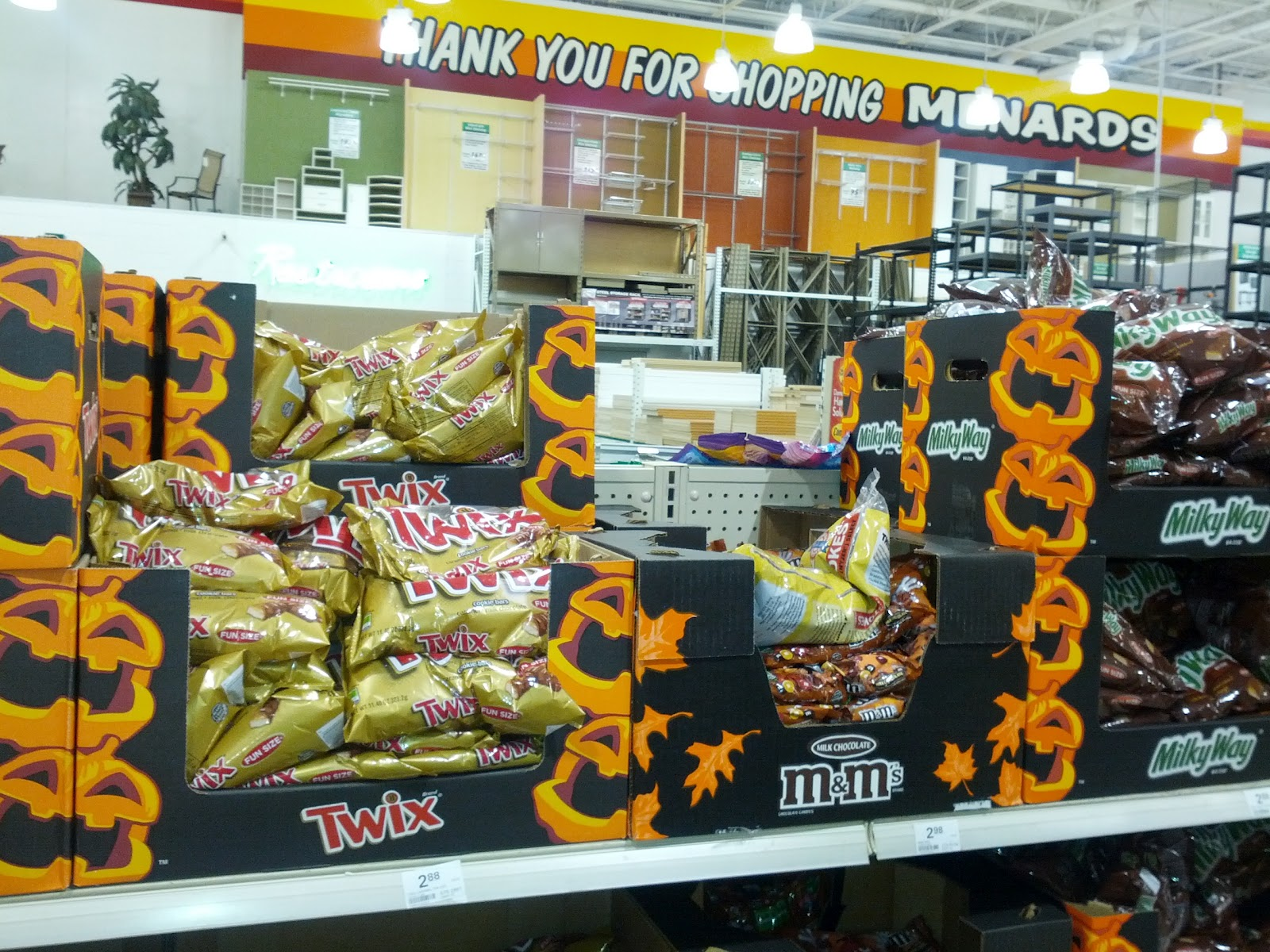 halloween already at menards candy at least 2012 - Menards Halloween Decorations
