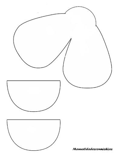 Empaquetado bonito: Un dulcero de payaso de foami-molde gratis
