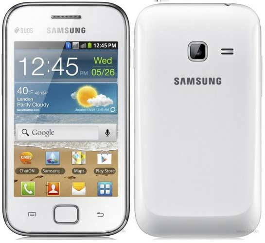 price of dual sim samsung galaxy ace