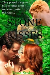 Steamy, romantic, fantasy comedy, Stone Kisses