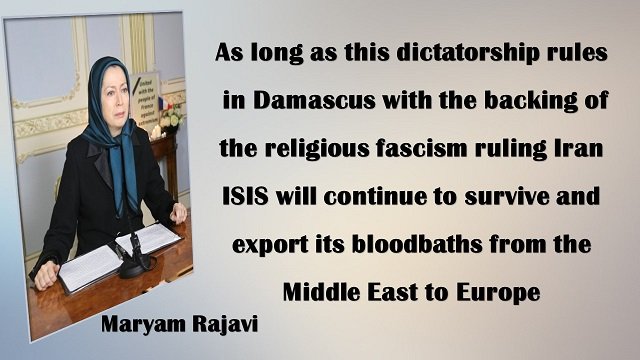 IRAn-Video&Text of message Maryam Rajavi: condemns #ParisAttacks