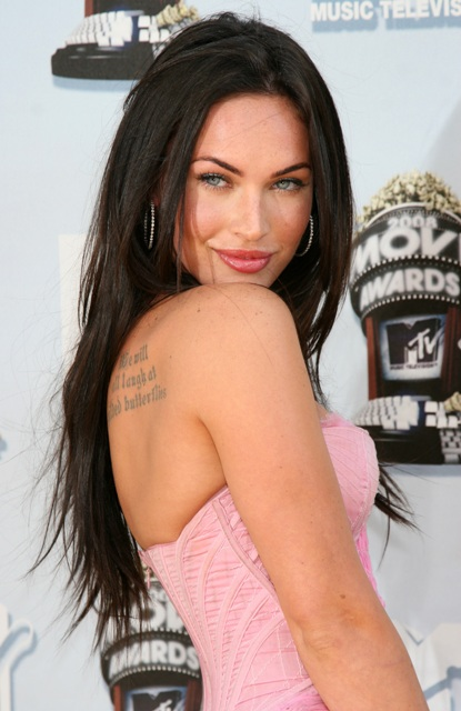 Women fashion trend megan fox celebrity tattoos designs - Film diva futura ...
