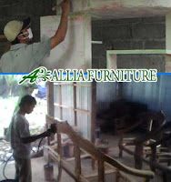 Proses Finishing Furniture Cat Duco Amplas Dasar