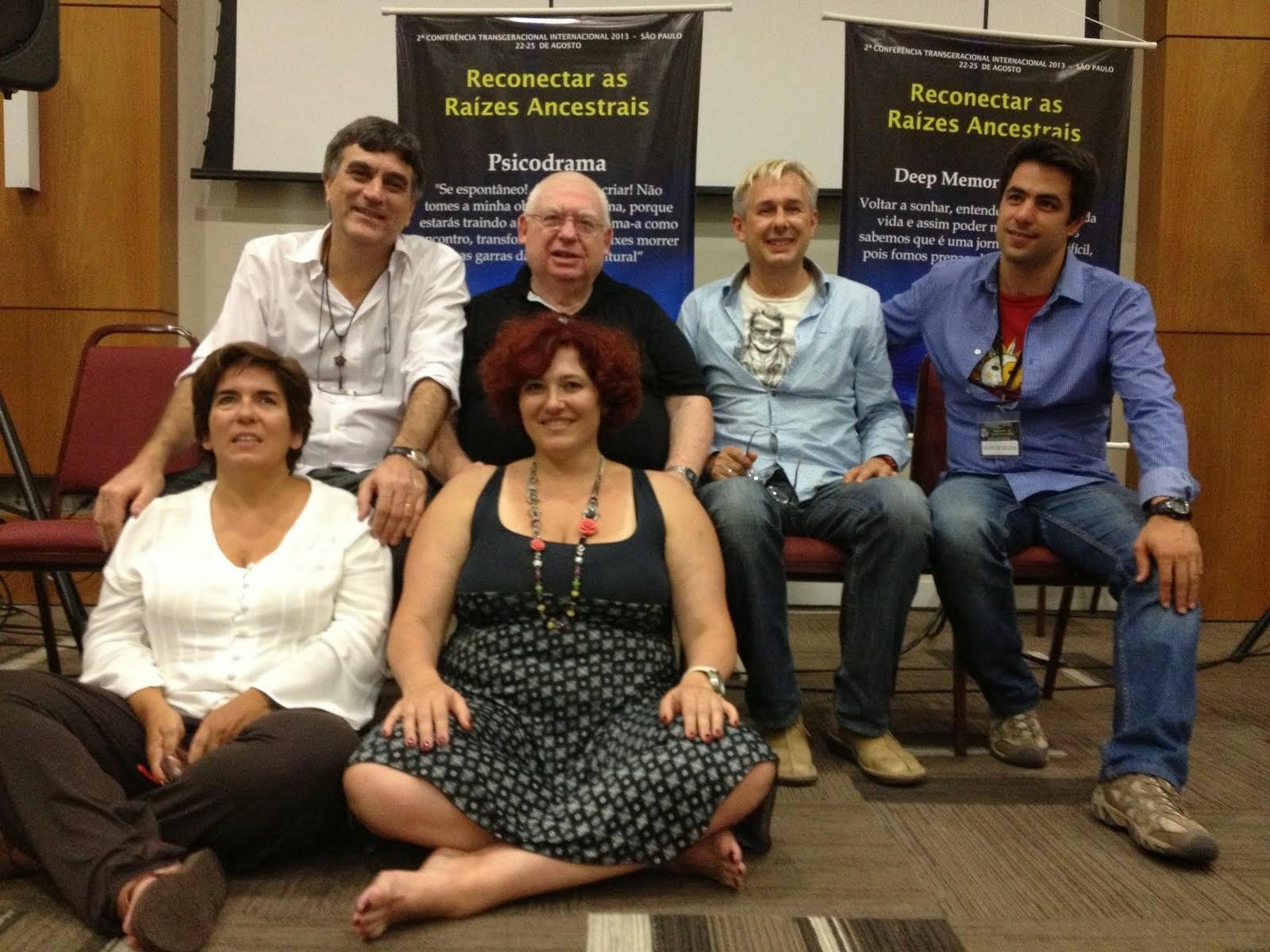 Os palestrantes da 2º Conferência Transgeracional