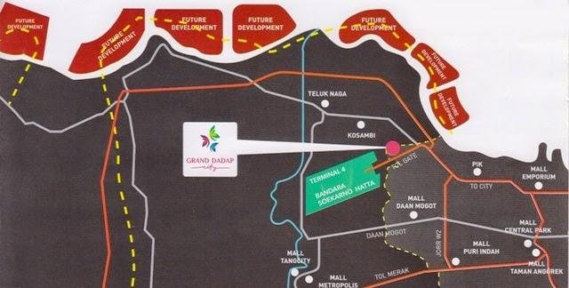 Grand Dadap City: Apartemen Pertama Di Dadap Barat Jakarta