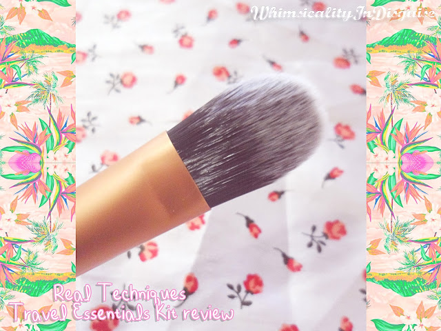 Real Techniques essential foundation brush review