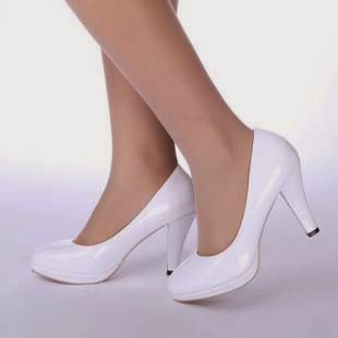 Chaussure mariage blanche