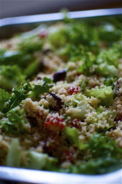 Ensi-iltapirskeiden couscous-salaatti