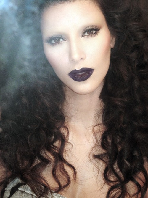 how to make your hair look gothic