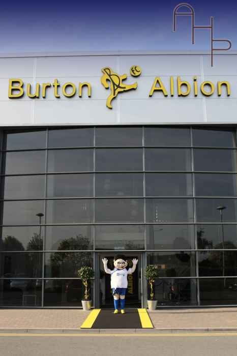 Burton albion stadium wedding