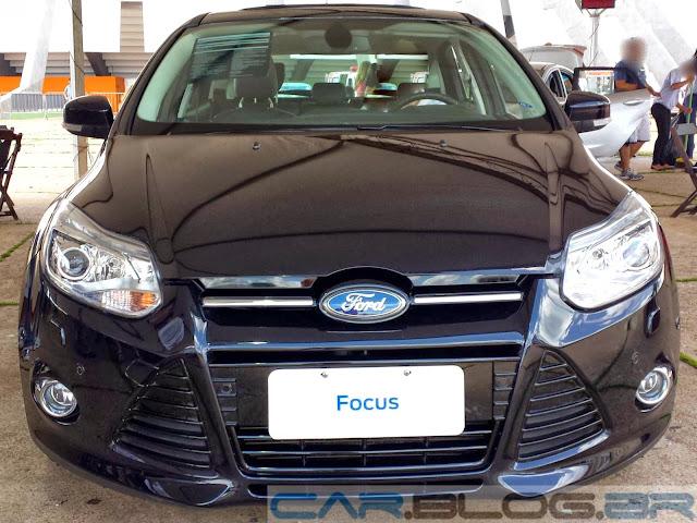 Novo Ford Focus Titanium Hatch Preto