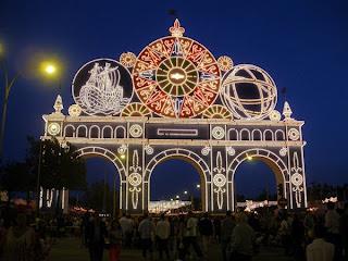 Feria de Sevilla 2011 - Portada de noche