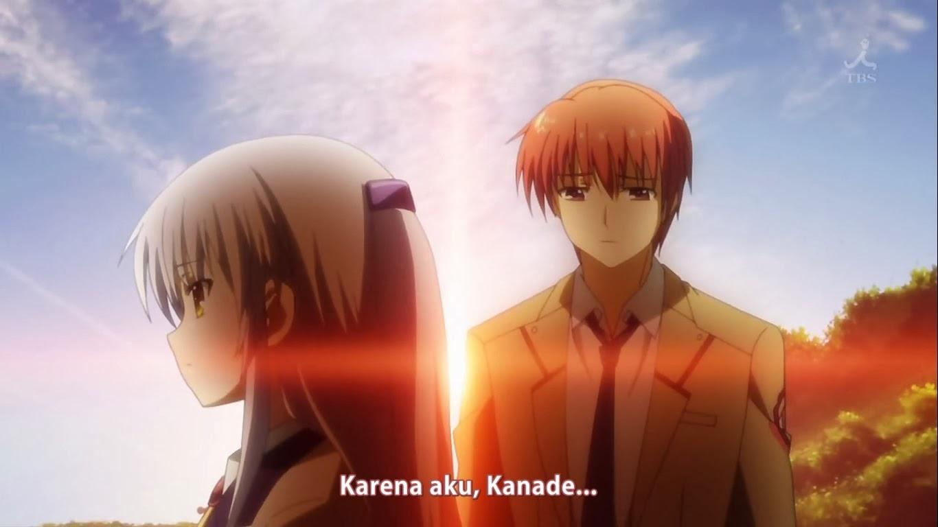 Saat Terakhir Kanade Pergi Yuzuru Mengungkapkan Isi Hatinya Aku Ingin Bersamamu Ini Dan Seterusnya Ucap Dia