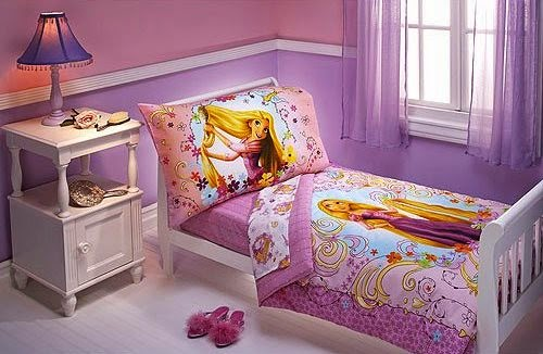 How To Decorate A Disney S Princess Rapunzel Themed Bedroom Tangled