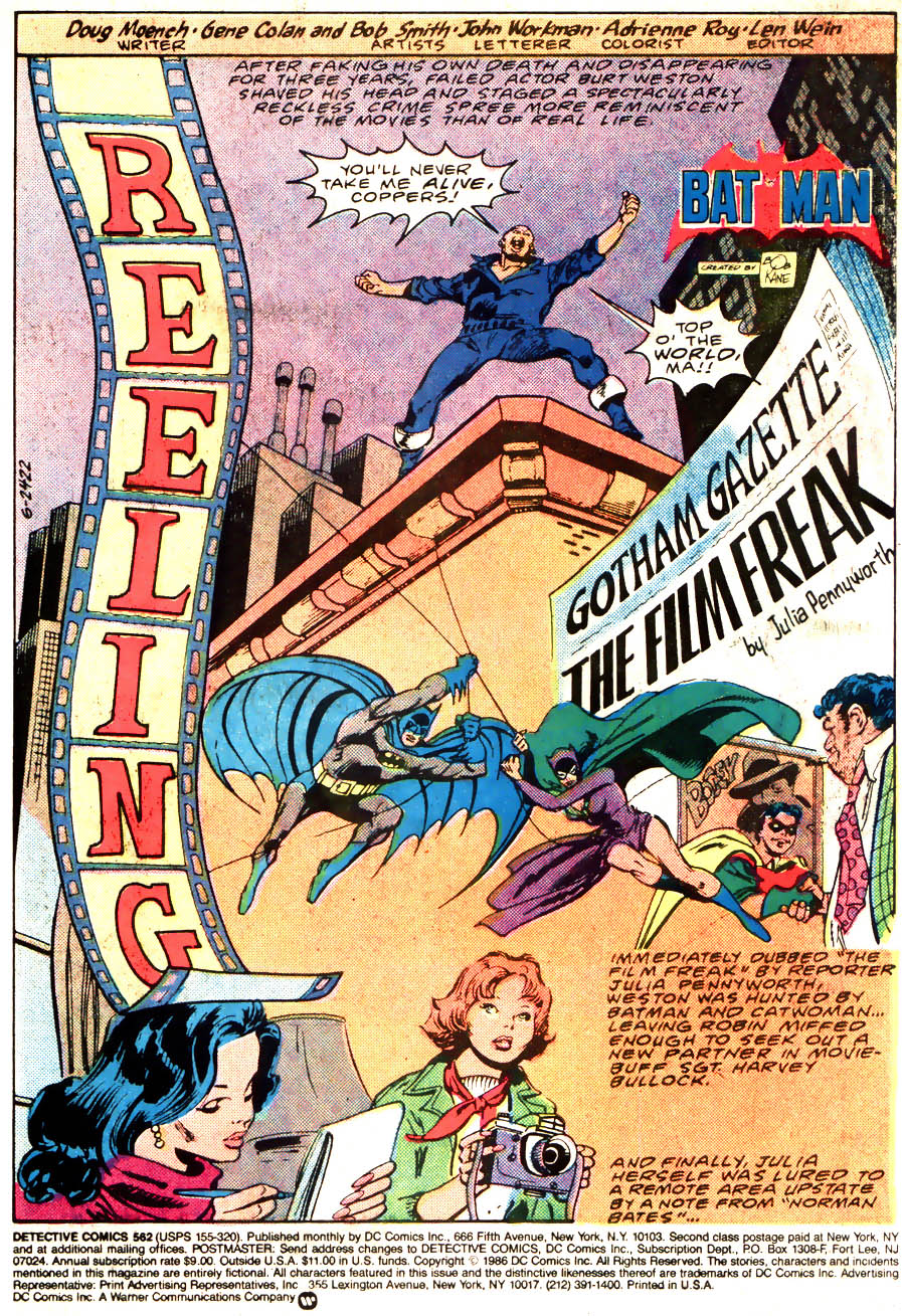 Detective Comics (1937) Issue #562 Page 3