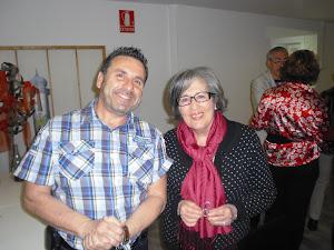Con Victória Cardona.