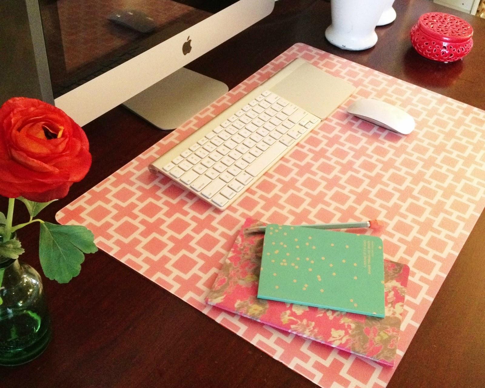 Custom Desk Pad A Little Tipsy