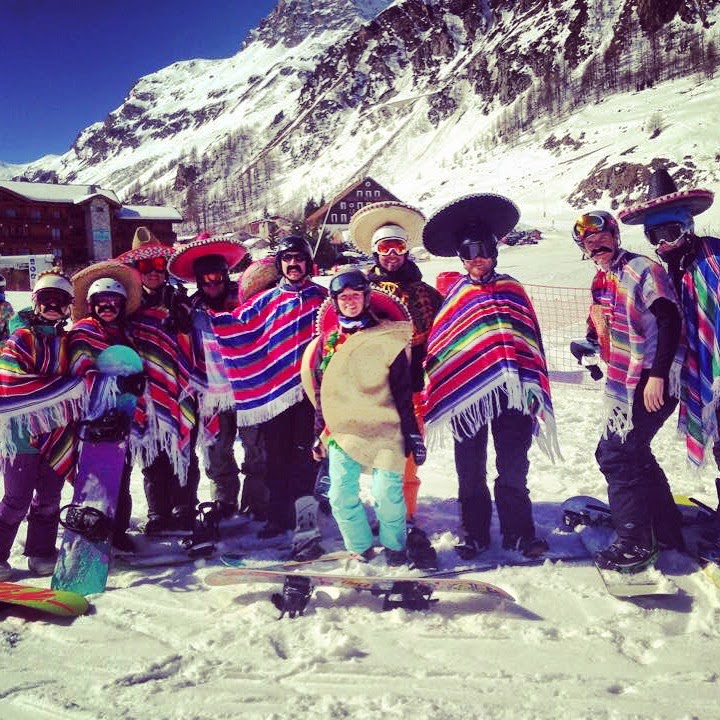 fancy dress ski holiday