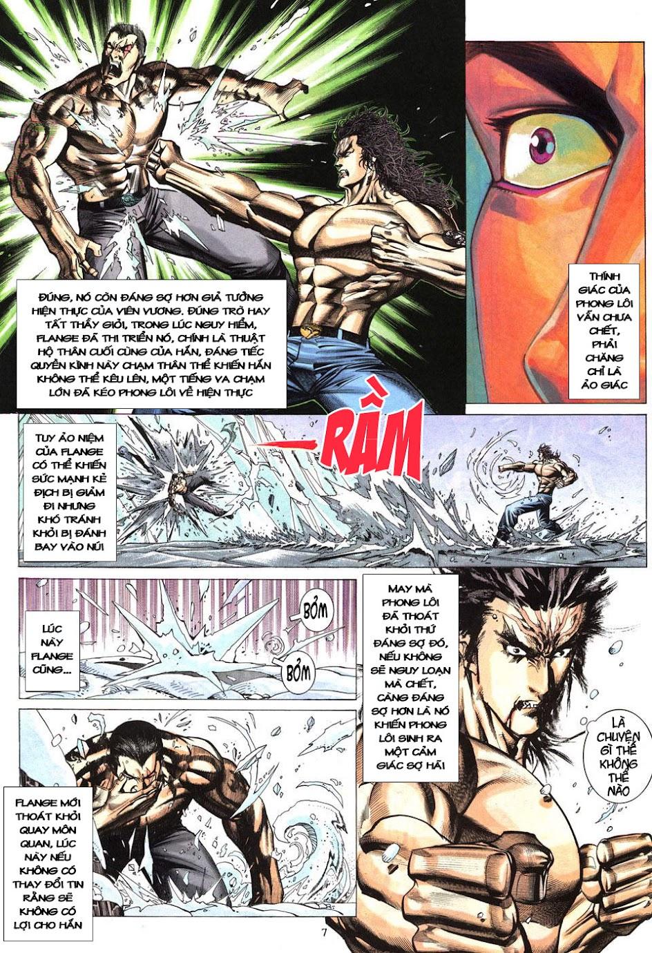 Phong Lôi chap 40 - Trang 8