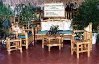 Bamboo Patio Set