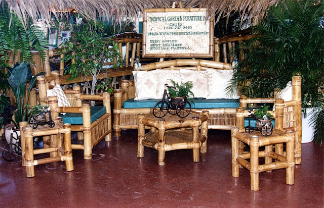 Bamboo Patio Set