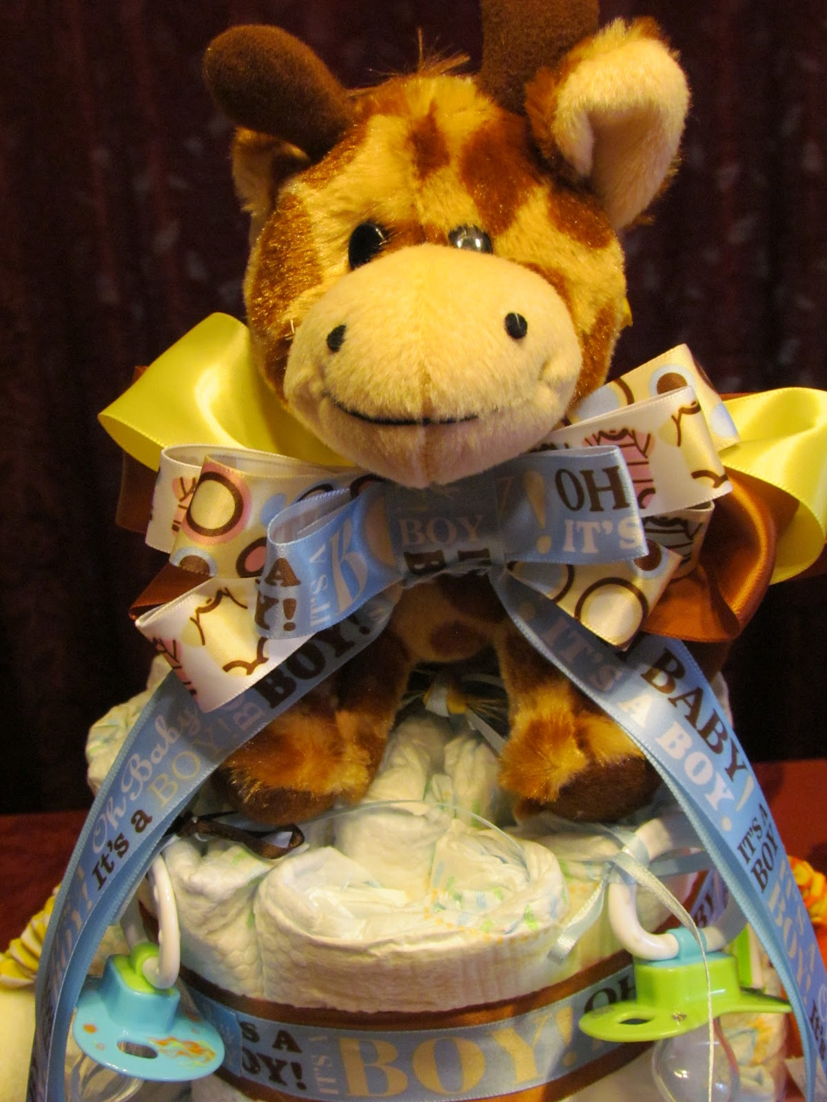 Momu0027s Little Place: Diaper Cake For A Baby Shower
