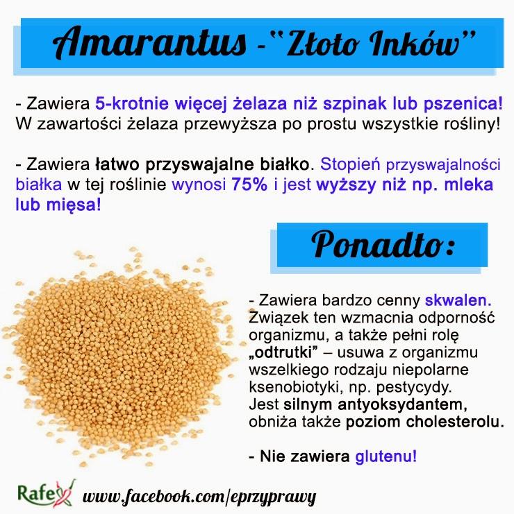 amarantus właściwości