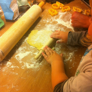 Cooking with kids - rolling pin