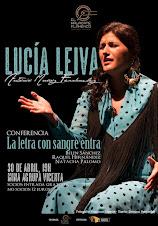 LUCÍA LEIVA EN EL MALACATE FLAMENCO MINA AGRUPA VICENTA DE LA UNIÓN 30 ABRIL 2016 A LAS 19:30H