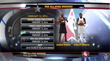 NBA 2k14 Ultimate Custom Roster Update v6.3 : February 25th, 2016 - All Star Weekend 2016 Toronto - HoopsVilla