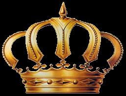 Render De Coroas on Transparent Gold Chain