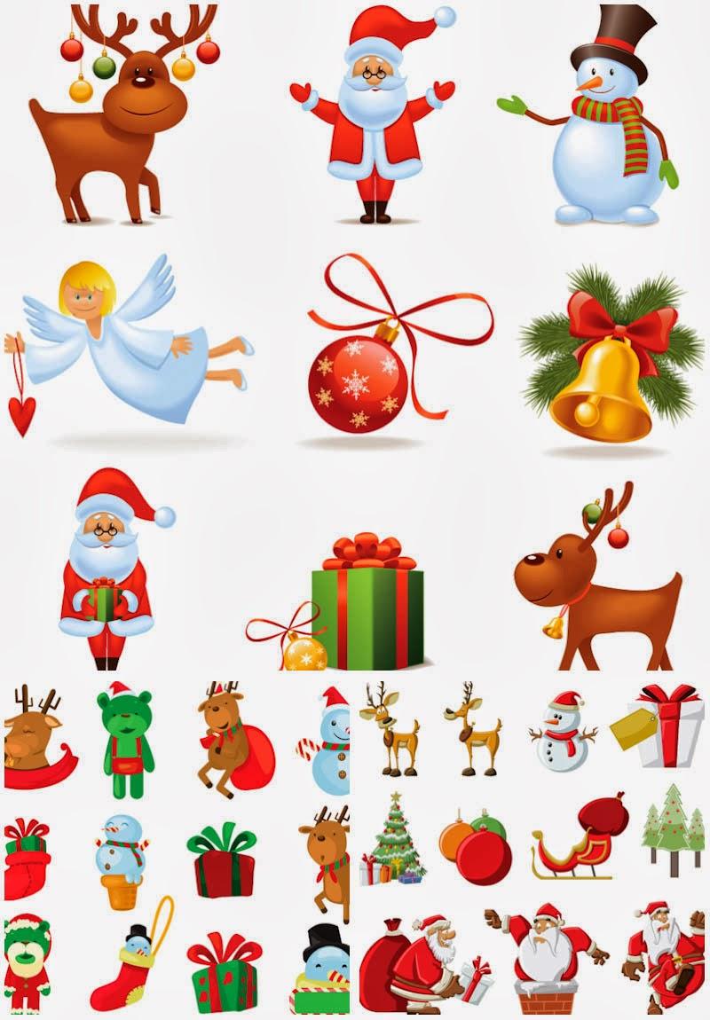 Santa Claus Letterhead Clipart Vector cartoon santa claus