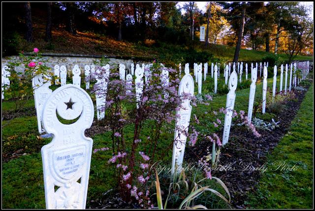 Tombes de soldats musulmans cimetière Gonards Versailles