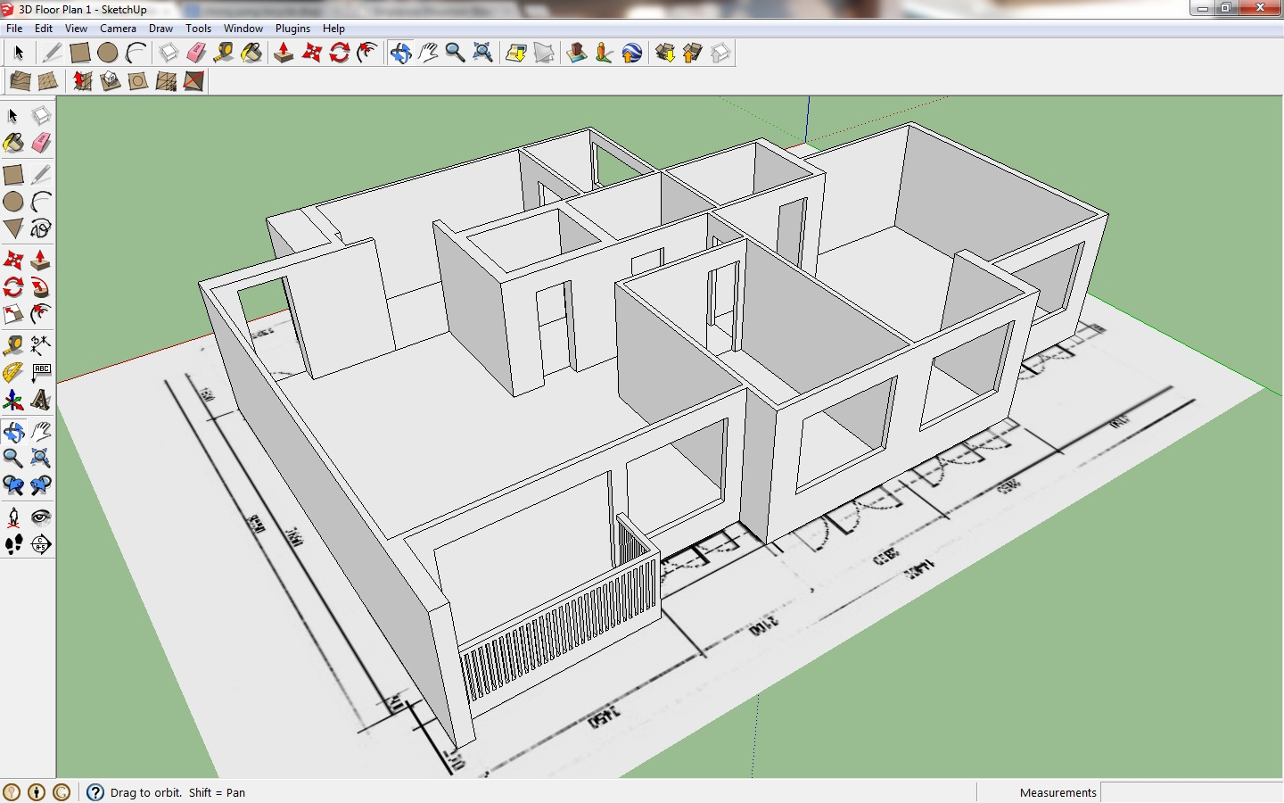 My hobbies me google sketchup Sketchup floorplan