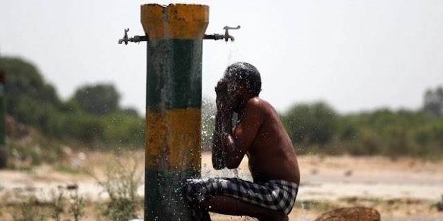 gelombang panas mematikan di india