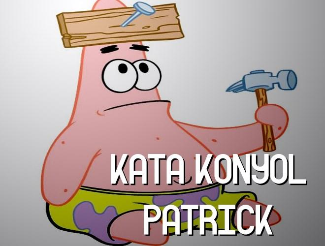 Kumpulan Kata Konyol Dari Patrick Di Film Spongebob Squarepants
