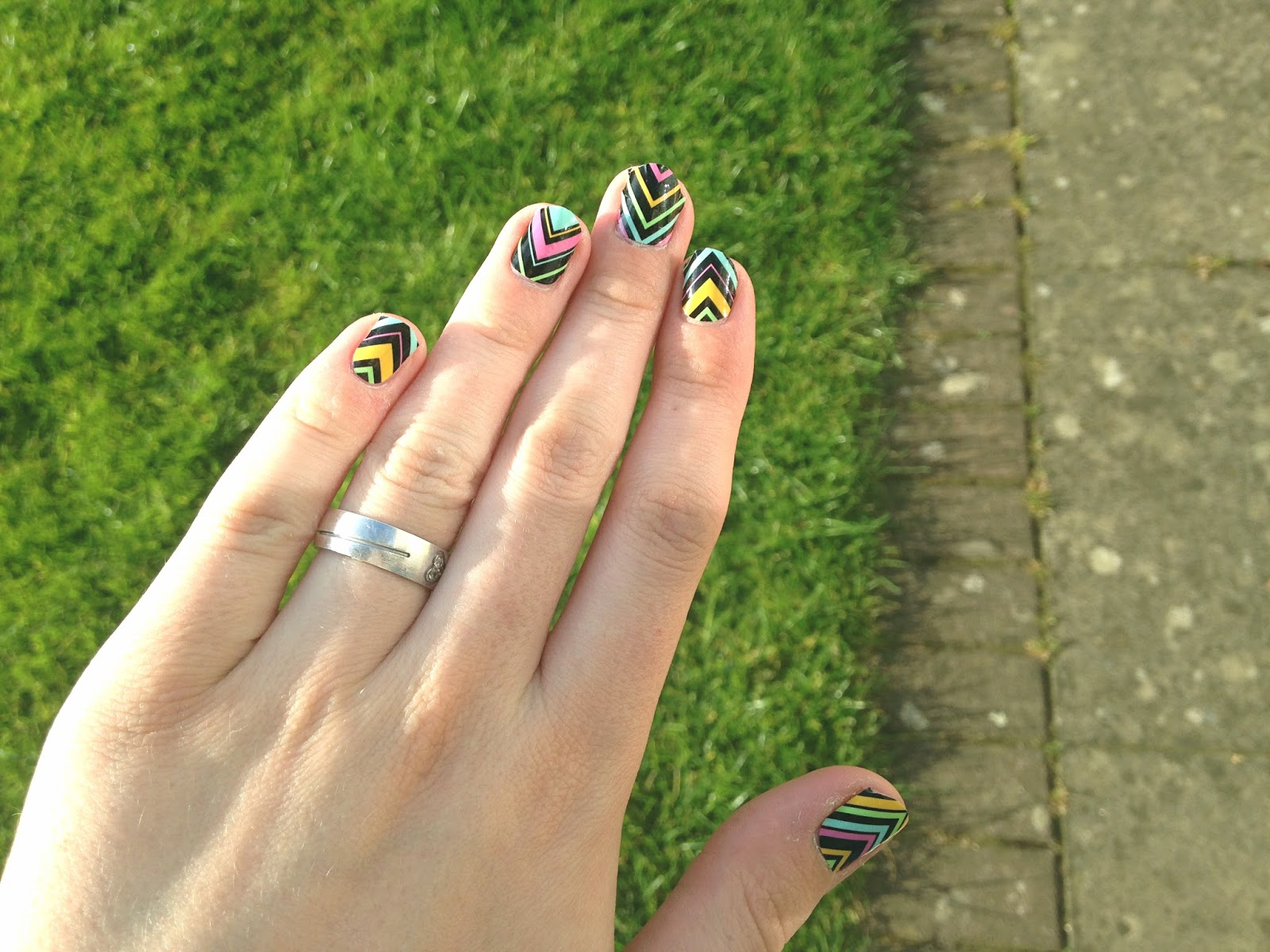ThumbsUp Nail Wraps Summer 2015 Neon