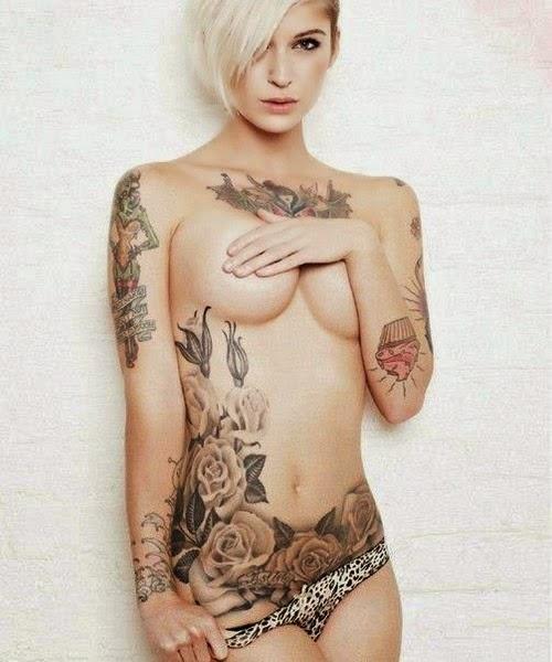 Cewek Bugil Pamer Tattoo