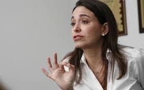"""María Corina Machado: La ruta es la """"desobediencia total"""""""