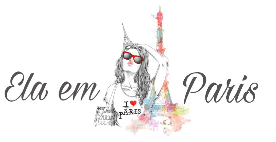 Ela em Paris