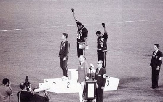 an analysis of olympic athlete report on tommie smith received an a Tommie smith and john carlos were proud to raise their gloved fists in a symbolic protest at the olympics 1968 olympians smith, carlos support kaepernick' protest.