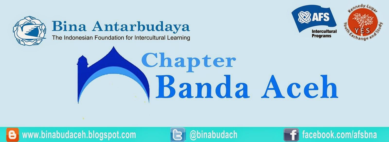 Bina Antarbudaya Chapter Banda Aceh