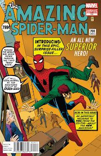Spider-man #700 portada de Steve Ditko